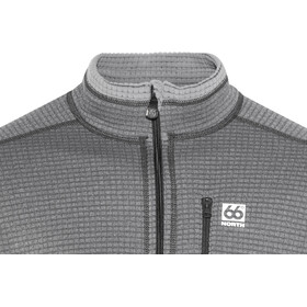 66° North Grettir Veste zippée Homme, lavic grey/black